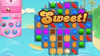 Candy Crush Saga Level 3968 NO BOOSTERS