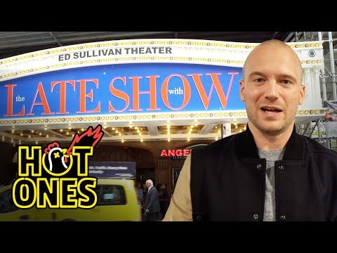 Sean Evans Goes to The Late Show With Stephen Colbert | Hot Ones Extras