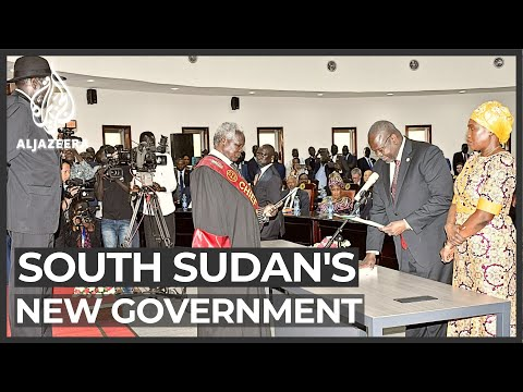 South Sudan's rival leaders join forces and declare peace