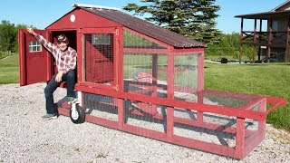 #1  Alecs Chicken Tractor, Part 1 | At The Ranch