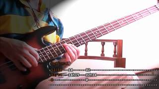 Roads   [Portishead]   Bass Cover With Video Tabs