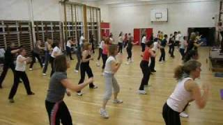 preview picture of video 'Jazzercise December 2008, Ampthill UK'