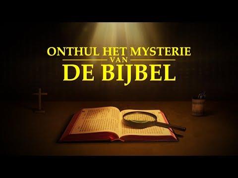 'Onthul het mysterie van de Bijbel' Ken jij het echte verhaal van de Bijbel? Nieuwe nederlandse film