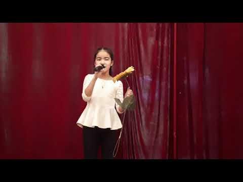 """Калмиярова Эльвина,Астраханская область,11лет,песня """"Цветик семицветик"""""""