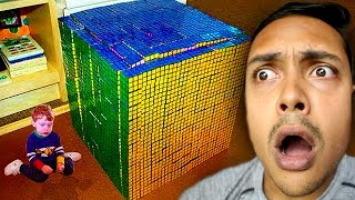 The Kid Who Can Solve It IN ONE SECOND