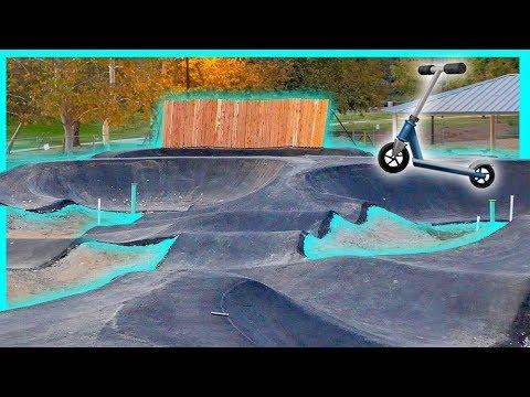 New $500,000 Skatepark PUMP TRACK!