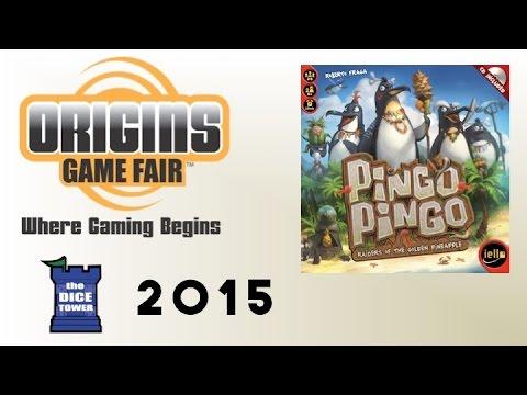 Origins Summer Preview: Pingo Pingo