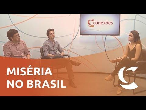 Avanço da miséria no Brasil