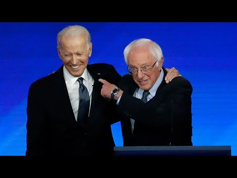 Trump Tries To Say Biden Is To The Left Of Bernie Now