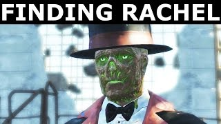 Fallout 4 Nuka World - Find Rachel & Tell Oswald The Truth - Alternate Dialogue (Rachel's Holotape)