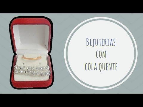 Bijuterias com Cola Quente