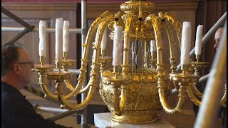 Chandeliers Return To Kensington Palace After 200 Years