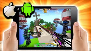 Top 10 BEST Games Like Pixel Gun 3D 2020! iOS + Android! [Free Download]