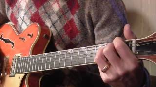 "The Beatles: ""Flying"" (lesson,  take 2) 1969 Gretsch 6120"