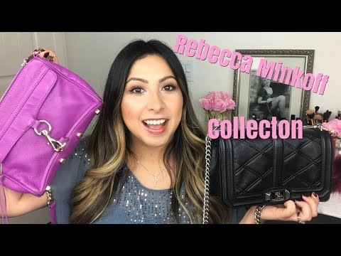 , title : 'MY REBECCA MINKOFF BAG COLLECTION / BRAND REVIEW (2018) I Jennifer Macedo'