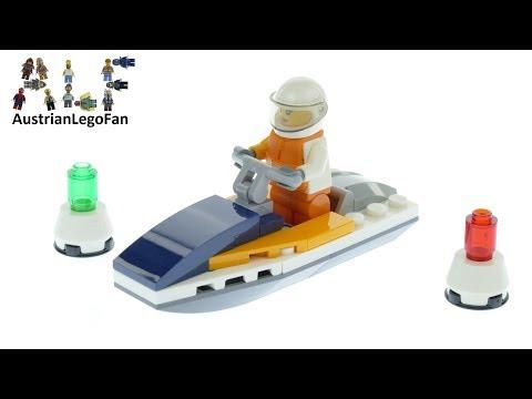 Vidéo LEGO City 30363 : Race Boat (Polybag)