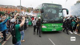 Así Fue El Espectacular Recibimiento De La Afición Al Real Racing Club En El Sardinero