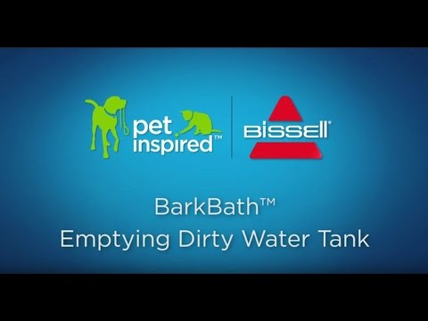 BARKBATH™ - Emptying Dirty Water Tank Video