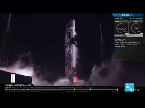 Israel space mission: country's first lunar lander blasts off from Florida