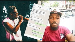 Kwaw Kese shows Whatsapp Chat of Shatta begging for Collabo...YAWA!