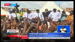 Spotlight 2017: Ripples in NASA over Kalonzo Musyoka