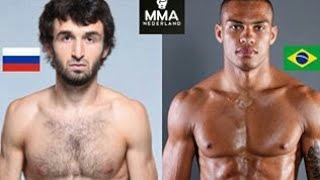Забит Магомедшарипов vs Шеймон Мораес - UFC Fight Night 122