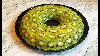 """Салат """"Малахитовый Браслет"""" / Kiwi Salad Recipe / Салат с Киви / Праздничный Салат"""