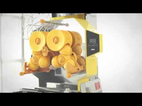 Orangenpresse Zumex Speed Pro   Slush Ice & Drink AG