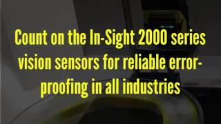 In-Sight 2000 high-speed inspection