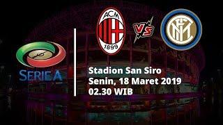 Video Live Streaming Laga AC Milan Vs Inter Milan di HP via MAXStream beIN Sport