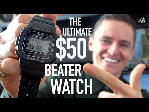 5 Reasons Why Everyone Should Own This $50 Watch - The Classic G-Shock DW5600 Series