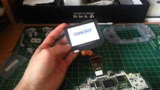 Gameboy Advance Backlight Mod