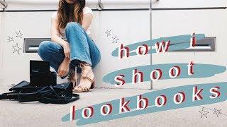 HOW I SHOOT LOOKBOOKS BY MYSELF // Behind The Scenes Vlog