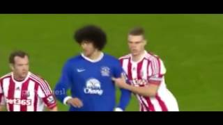 Marouane Fellaini - Fights, Red Card, Mad Moments (Everton , Man UTD, Belgium)