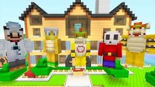 Minecraft Wii U - Nintendo Fun House - New Mansion Tour! [16]
