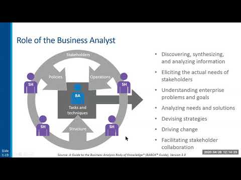Business Analysis Essentials for a Business Analyst - YouTube