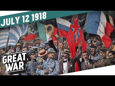 Soluňští zahradníci se připravují na útok - Velká válka