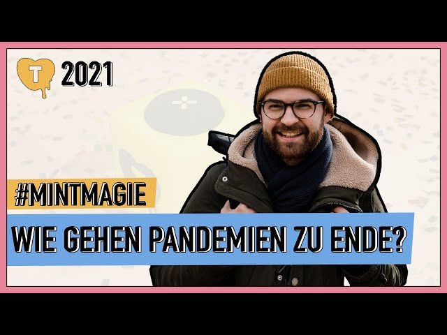 Vorschaubild zur Session 'Wie gehen Pandemien eigentlich zu Ende und was ist Herdenimmunität?'
