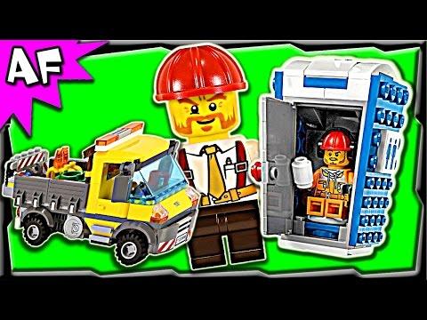 Vidéo LEGO City 60073 : Le camion grue