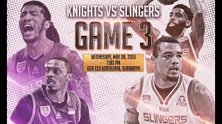 BTN CLS Knights Indonesia V Singapore Slingers | FULL GAME | 2018-2019 ASEAN Basketball League