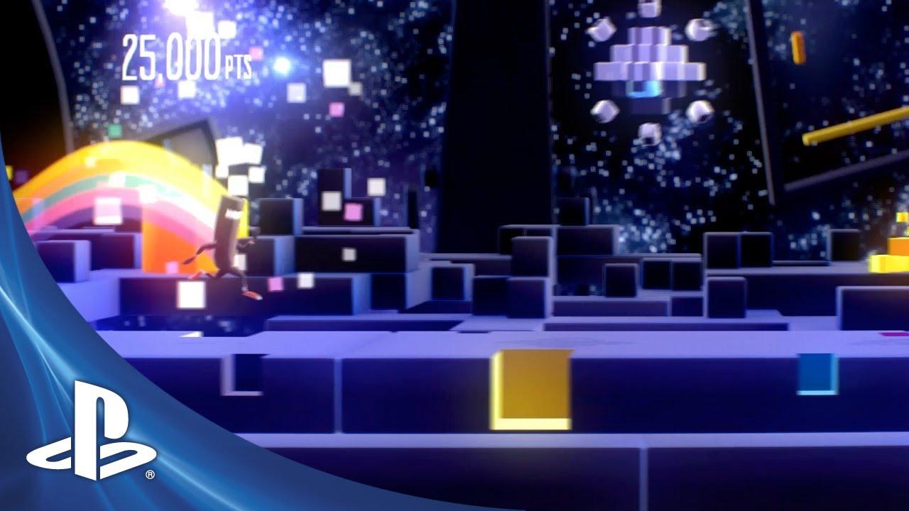 BIT.TRIP Presents Runner2: CommanderVideo's PlayStation Debut!