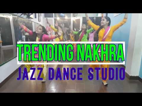 Trending nakhra|DANCE VIDEO|Amrit Maan ft. Ginni Kapoor|JAZZ DANCE STUDIO