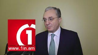 ԱԳ նախարար Զոհրաբ Մնացականյանի պատասխանը «Առաջին լրատվական»-ին