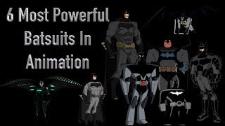 Batman's 6 Most Powerful Batsuits In Animation