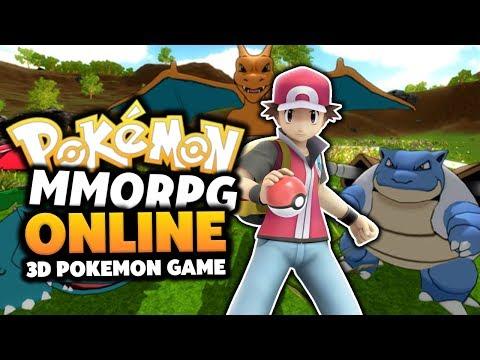 Pokemon MMORPG 3D - Pokemon Online Game!? (THE BEST POKEMON MMORPG!?) Episode #01