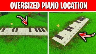 Visit an oversized piano - Fortnite Week 6 Season 10 Challenges [BOOGIE DOWN]