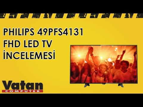 Philips 49PFS4131 FHD Ultra Slim LED TV İncelemesi