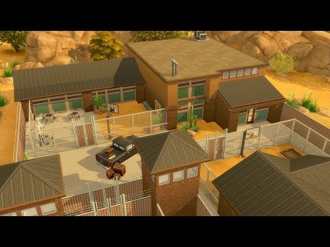 Building a Prison in The Sims 4 (Streamed 3/23/19)