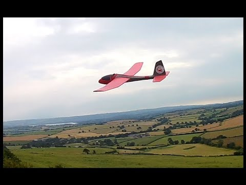 lidl-glider-pitcheron-conversion-in-1015-mph-winds-at-maes-knoll