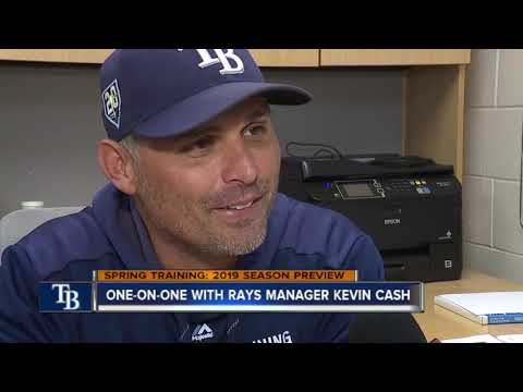 One-on-One with Rays Manager Kevin Cash